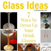 7 Ways To Dress Up Your Drink Glasses