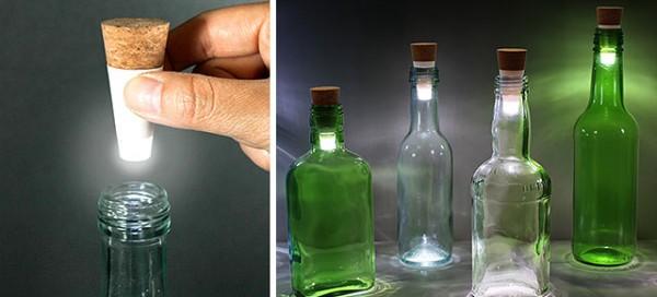 Tiny Bottle Light Turns Empty Bottles Into Lights Glass Art