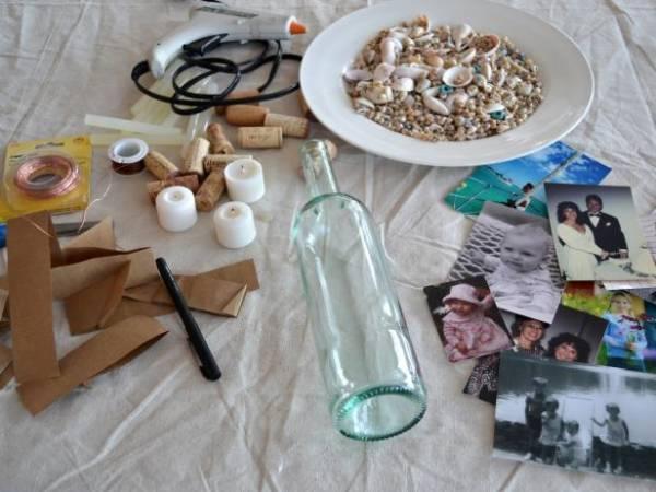 old-bottles-picture-frame