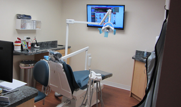 Glassboro Dentistry Treatment Room