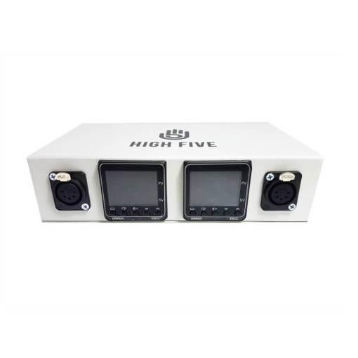 High5 Dual LCD Enail White