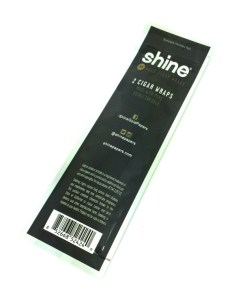 Shine 24K Gold Cigar Wraps Package