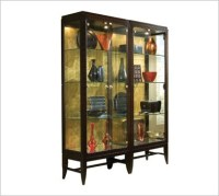 glass curio cabinets with lights | Roselawnlutheran