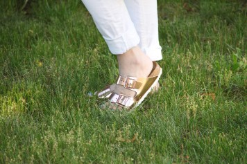 Rose Gold Birkenstock