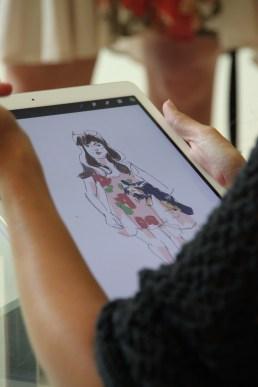 Sketch at Bloomies