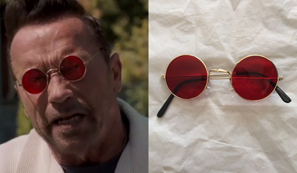 Gunther Arnold Schwarzenegger Glasses In Killing Gunther