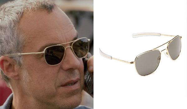 49b442fe8 Harry Bosch Sunglasses. The sunglasses that Titus Welliver wears for his  Harry Bosch role in Bosch are Randolph Engineering Aviator ...