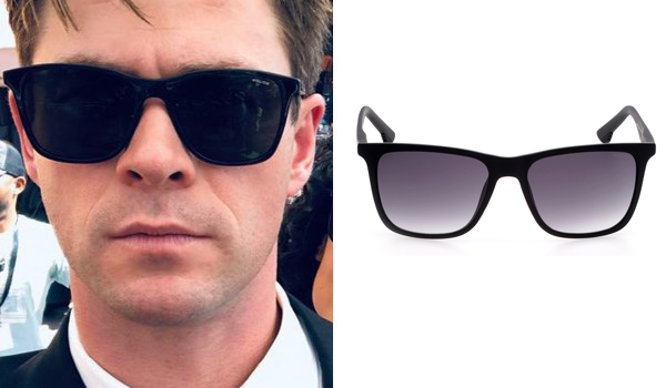 3bcf18ba622 Chris Hemsworth also wears another pair of sunglasses for his Agent H role  in Men In Black International. They are Police Spike 4 Sunglasses with black  ...