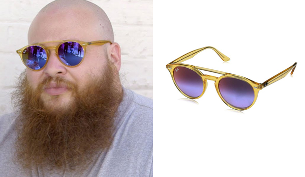 Action Bronson wearing sunglasses in Paris