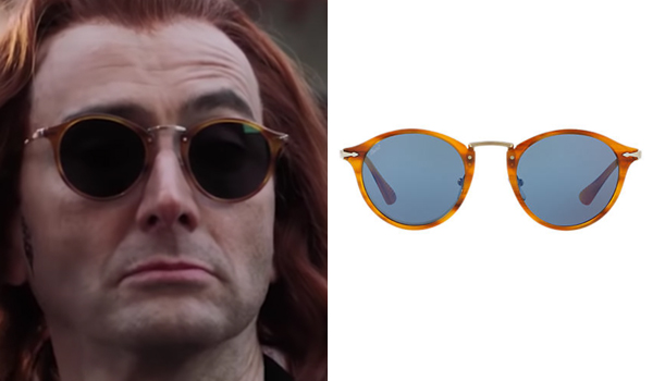Good Omens Crowley Brown Sunglasses