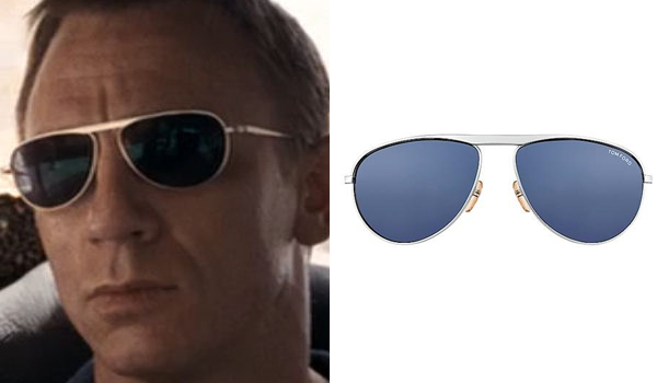 Daniel Craig Bond Sunglasses in Quantum of Solace