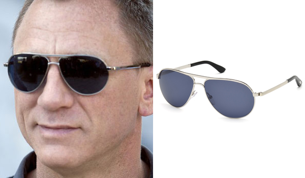 James Bond sunglasses in Skyfall