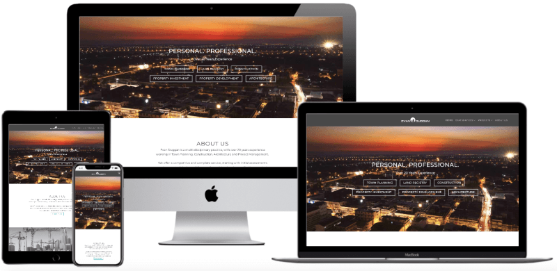 Architecture website design ireland