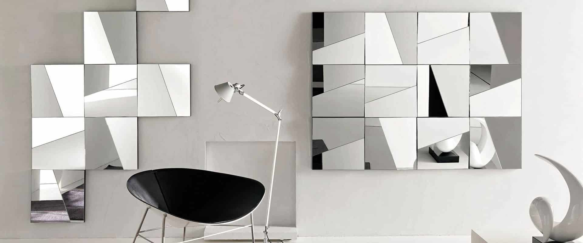 Glass Furniture - featured mirror by Tonelli