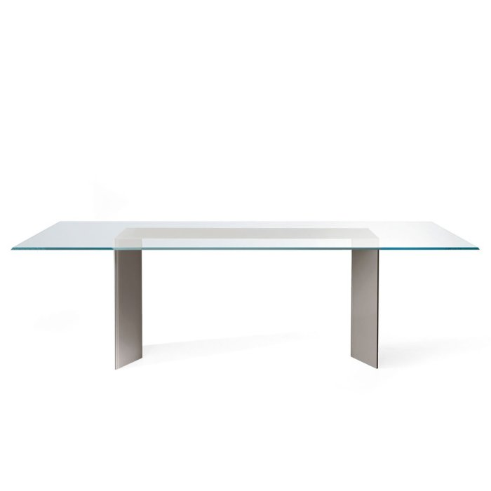 Dolm Glass Table by Gallotti & Radice