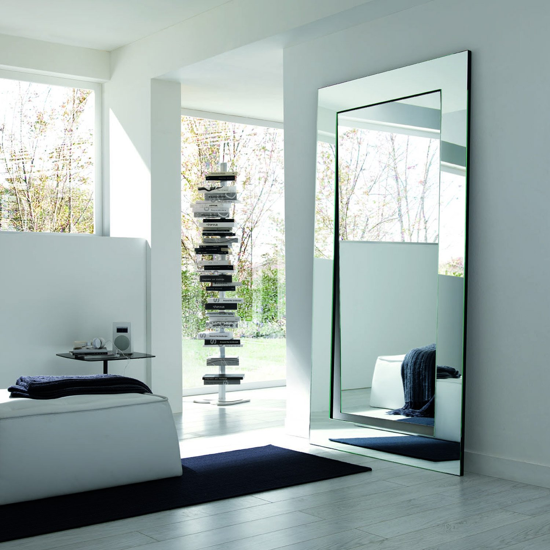 Gerundio Leaning full length mirror by Tonelli - Klarity - Glass ...