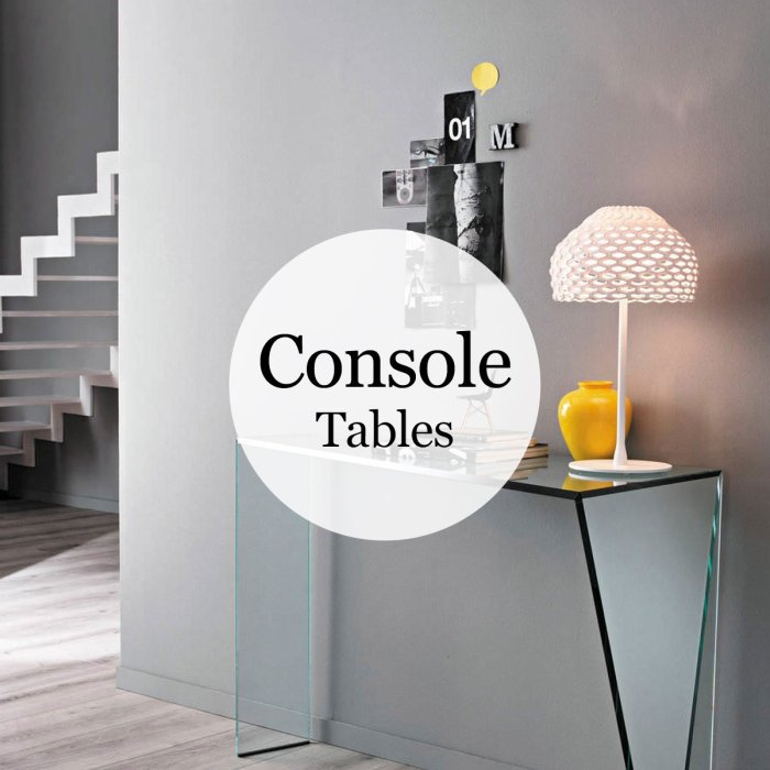 Glass Console Tables