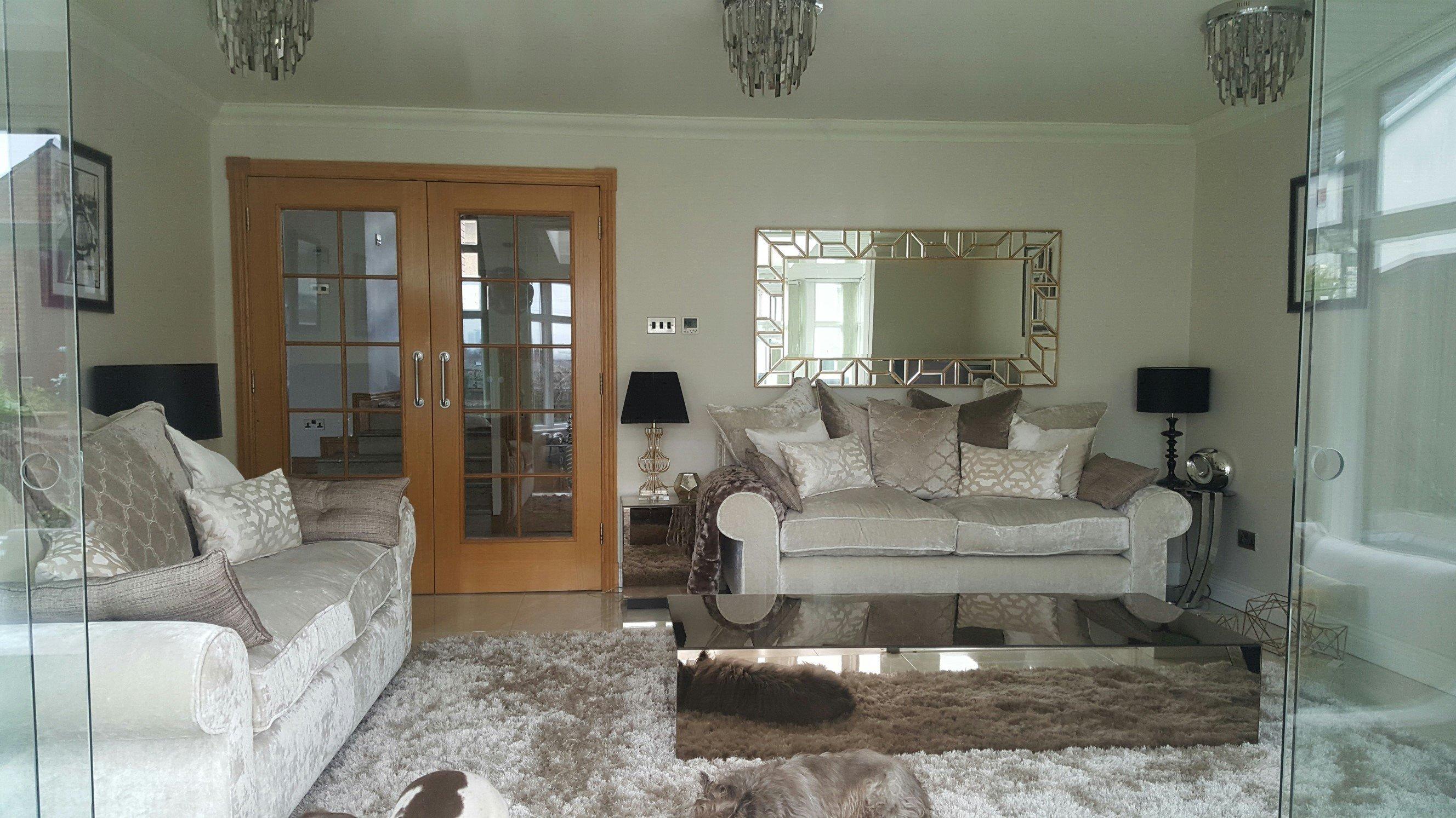 Bronze Mirrored Furniture