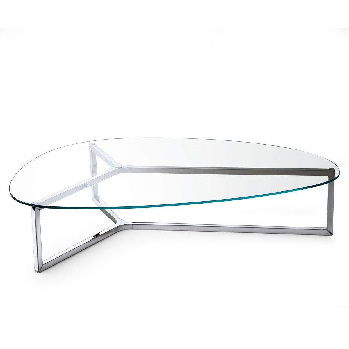Raj 3 Glass And Metal Coffee Table By Gallotti Amp Radice