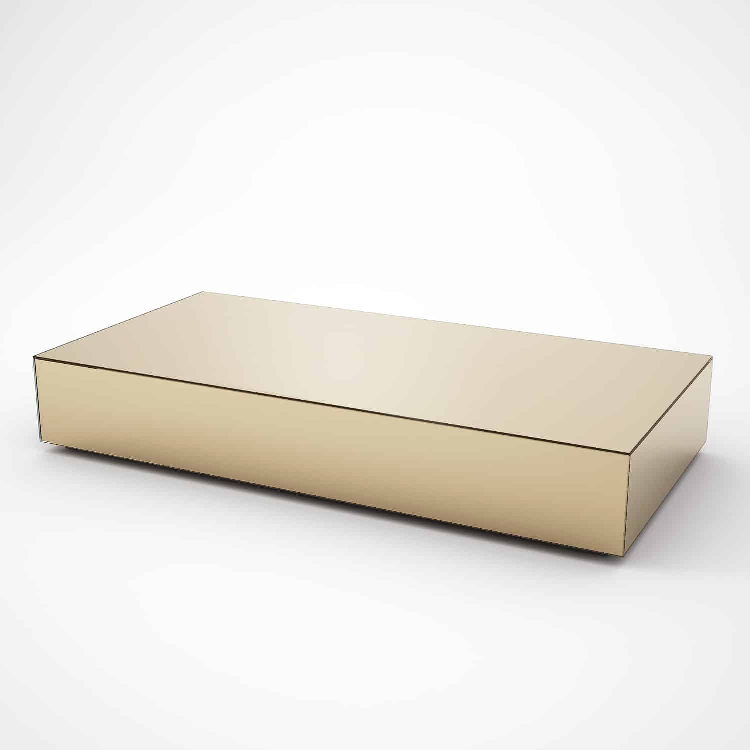Rectangular Glass Coffee Tables Uk: Rectangular Bronze Mirrored Coffee Table By MirrorBox