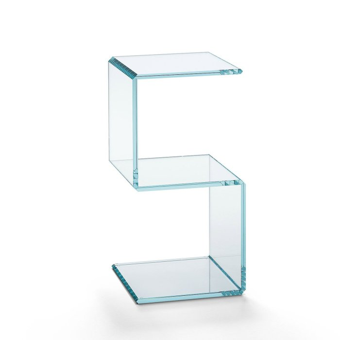 digit 5 glass storage by tonelli