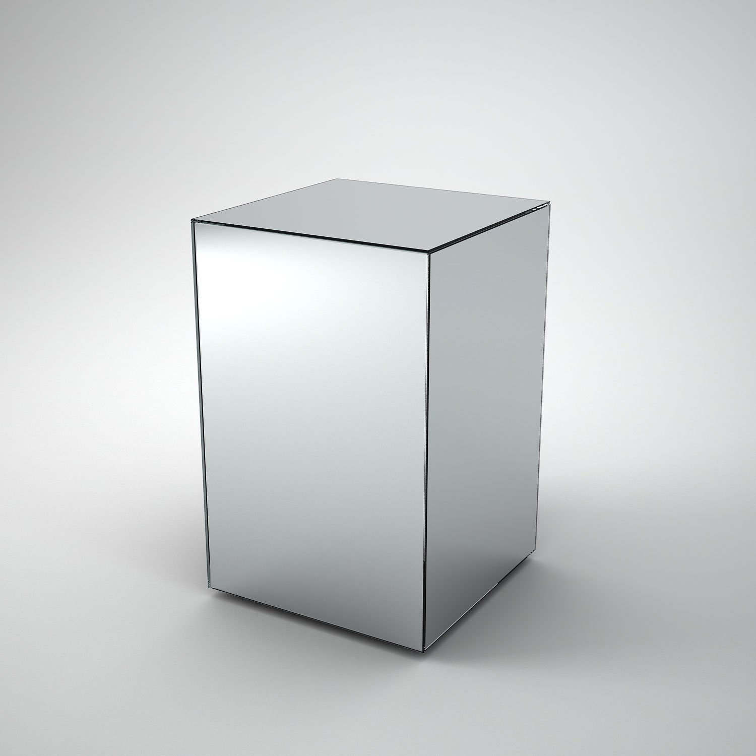 Mirrored Side Table by MirrorBox
