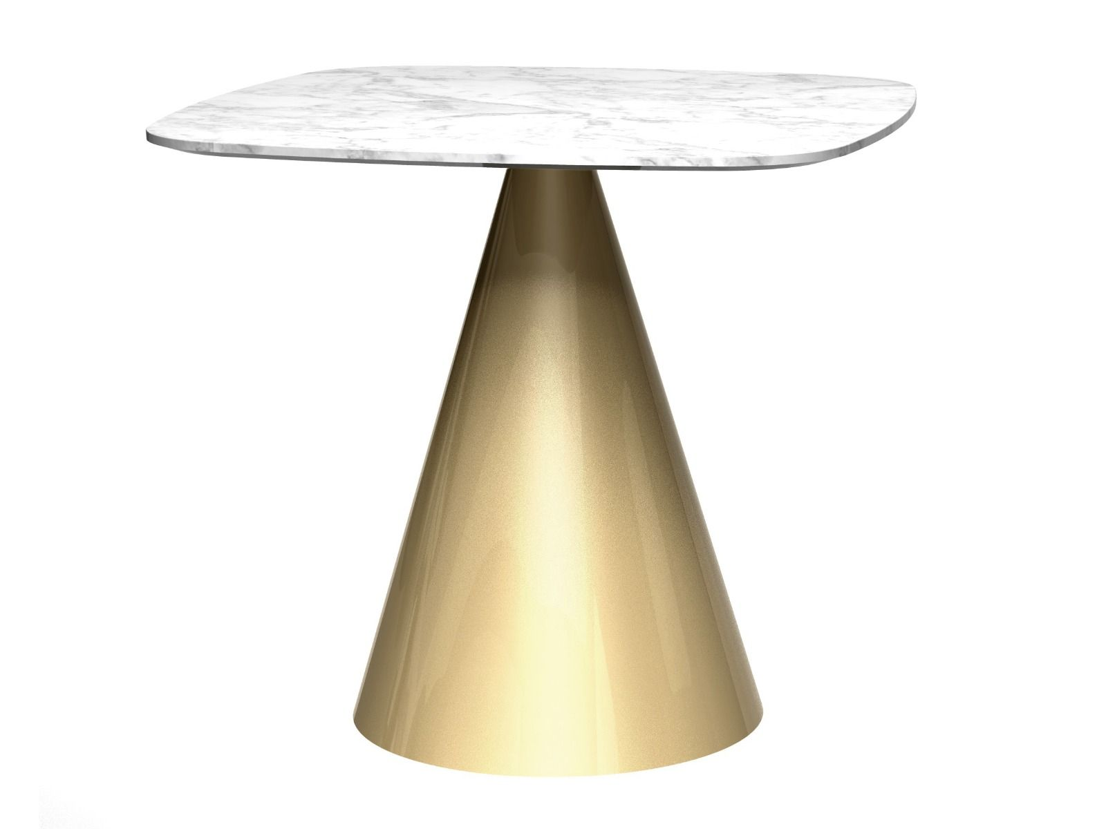 oscar small square dining table