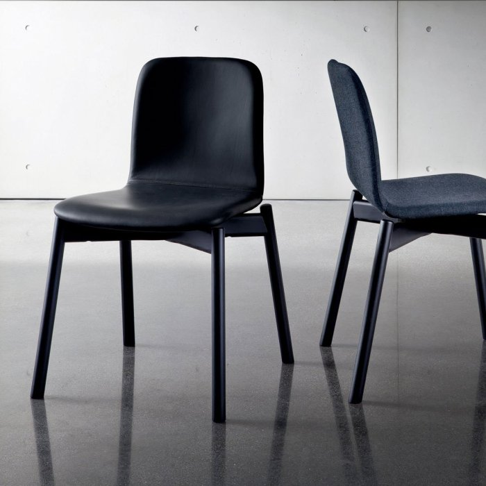 sovet italia two tone dining chair
