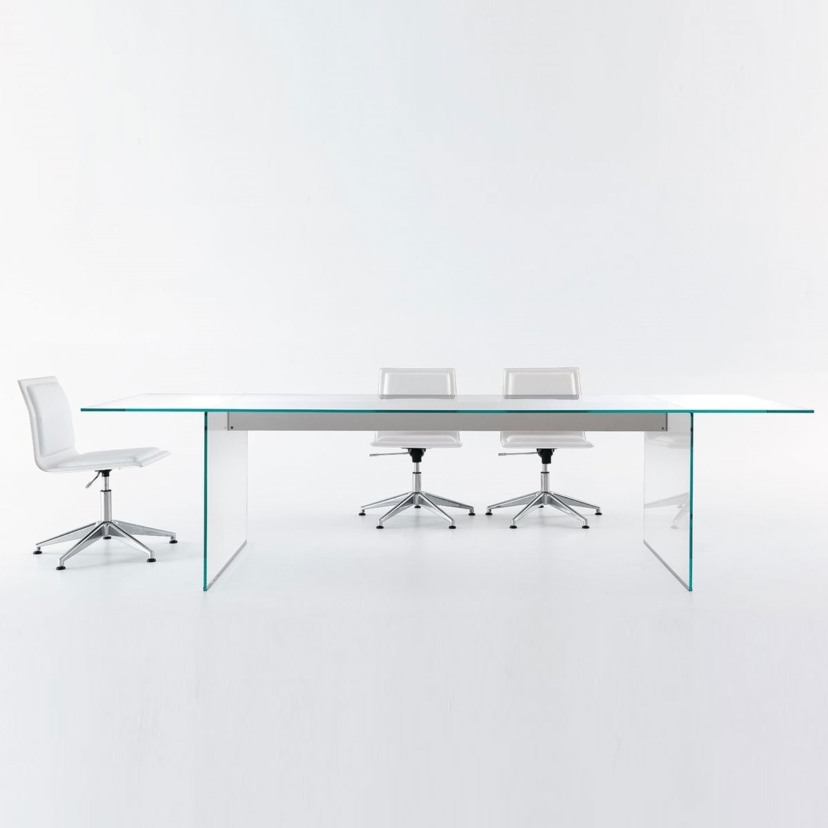 Air glass table gallotti & Radice