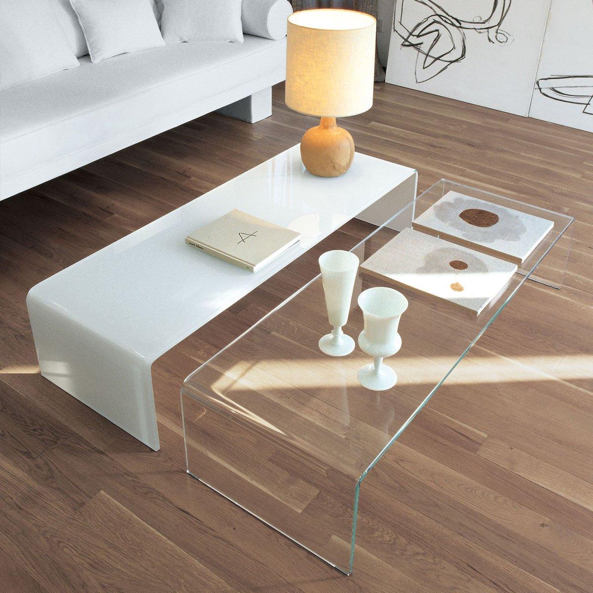 Bespoke Glass Coffee Tables: Sovet Bridge Coffee Table