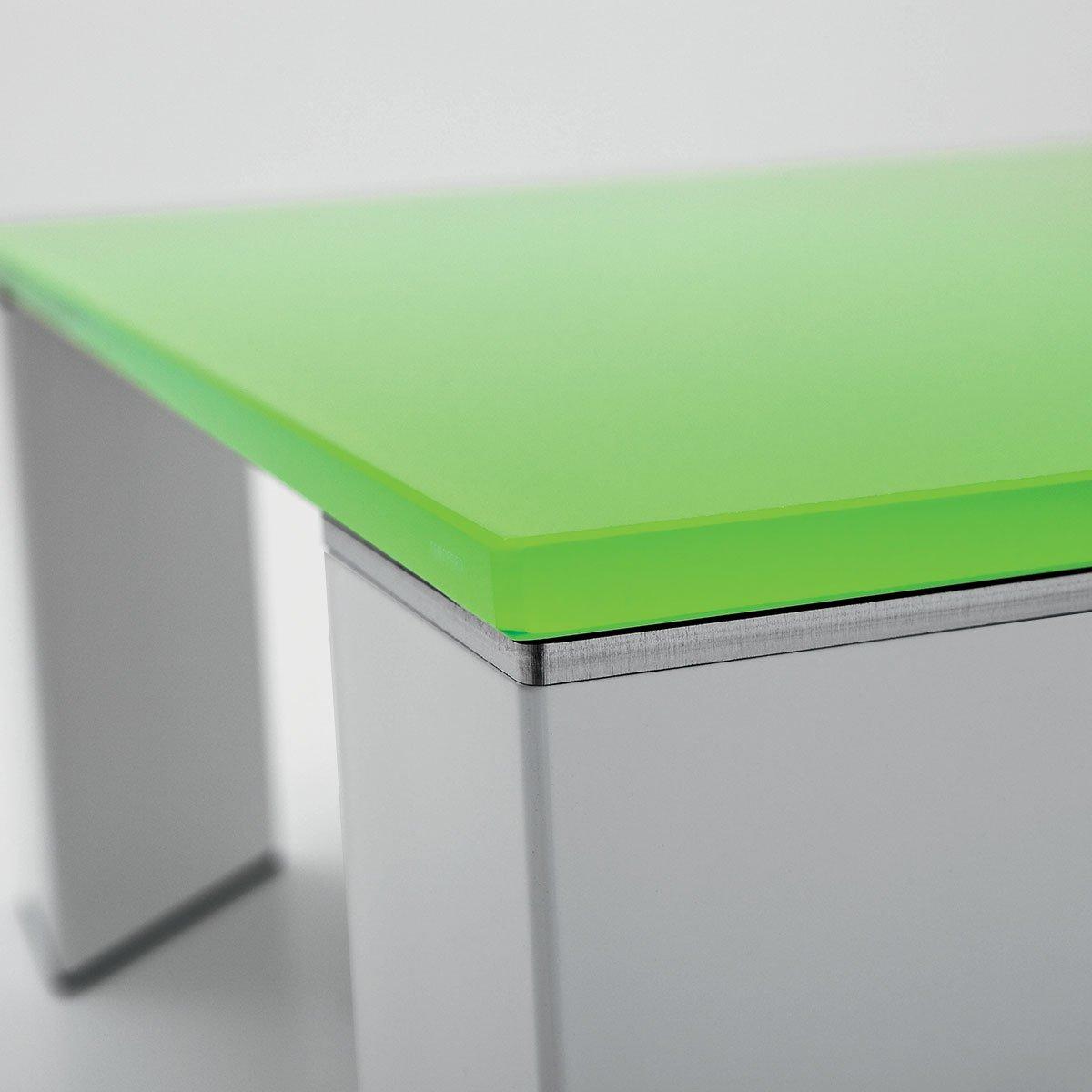 Jean Glass Metal Coffee Table By Sovet Italia Klarity