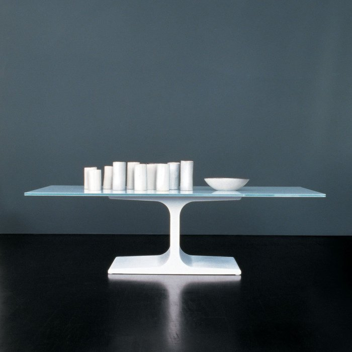 Palace Glass & Metal Coffee Table by Sovet Italia