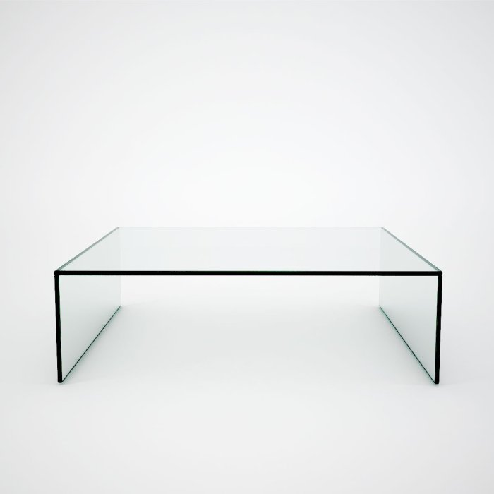 Square Glass Coffee table