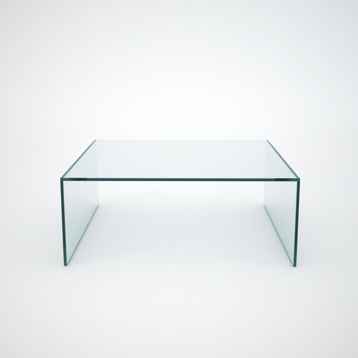 judd square glass coffee table
