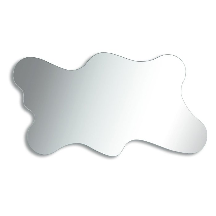 spot shaped mirror
