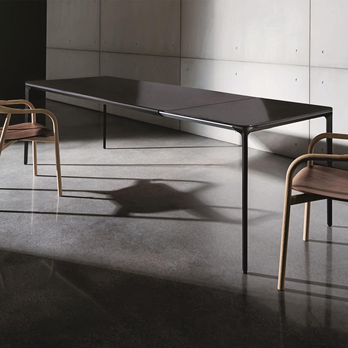 slim extending dining table sovet