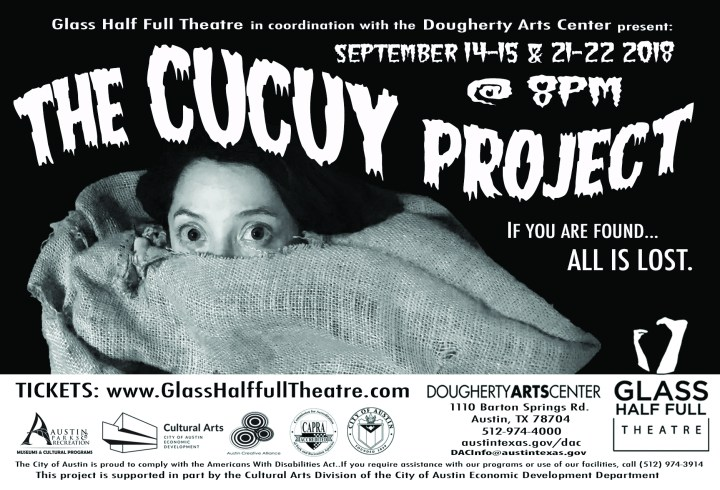 The Cucuy Project - September 14-15 & 21-22, 2018
