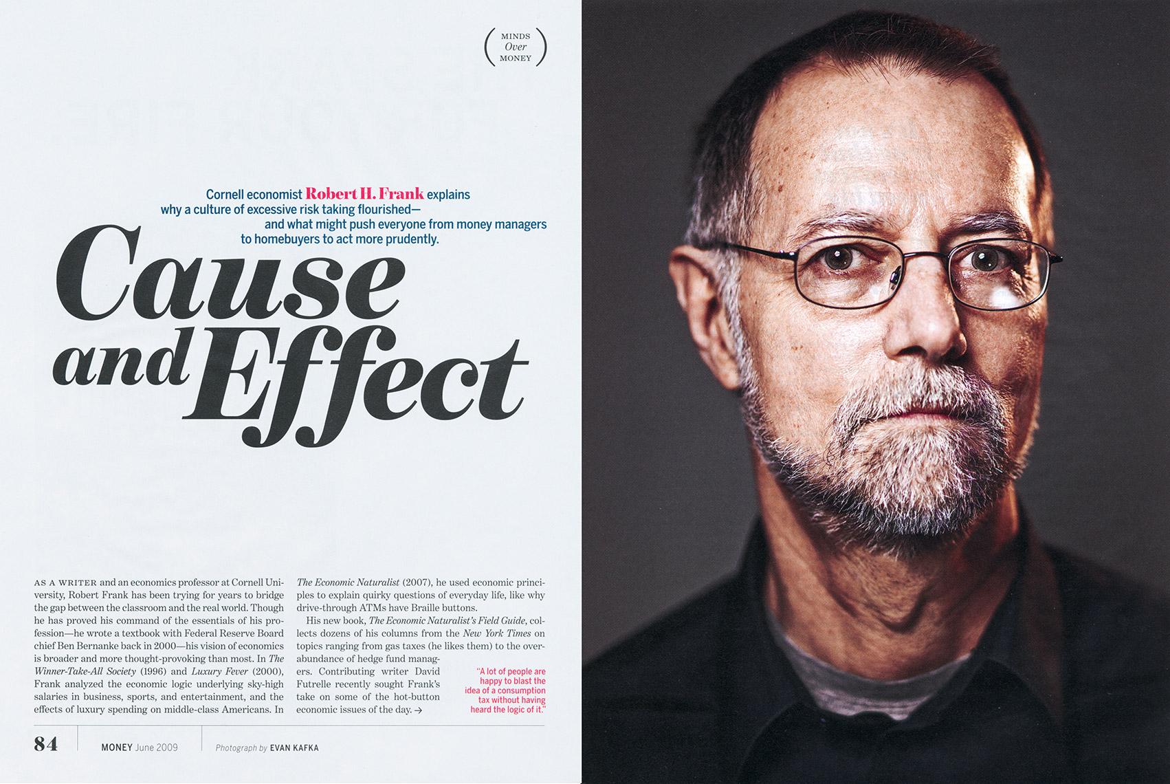 Evan Kafka in Money Magazine