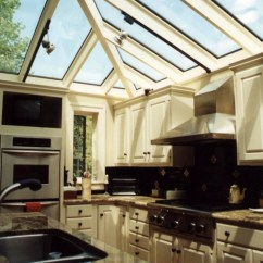 Kitchen Skylights Square Faucet Hip Glass Roof System - House, Llc
