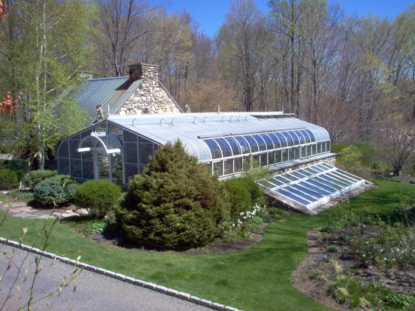 Estate Orchid Greenhouse  Glass House LLC