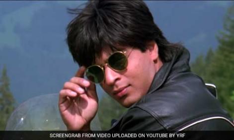 Shah Rukh Khan in DDLJ