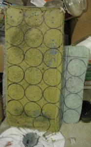 Recycled Cast Glass slabs