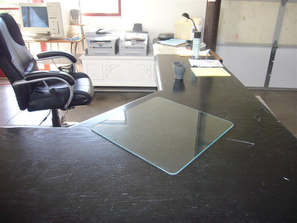 desk chair glass mat spa pedicure chairs blotter pads protectors blotters mats
