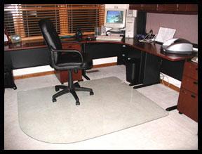 desk chair glass mat metal accent office mats corner home