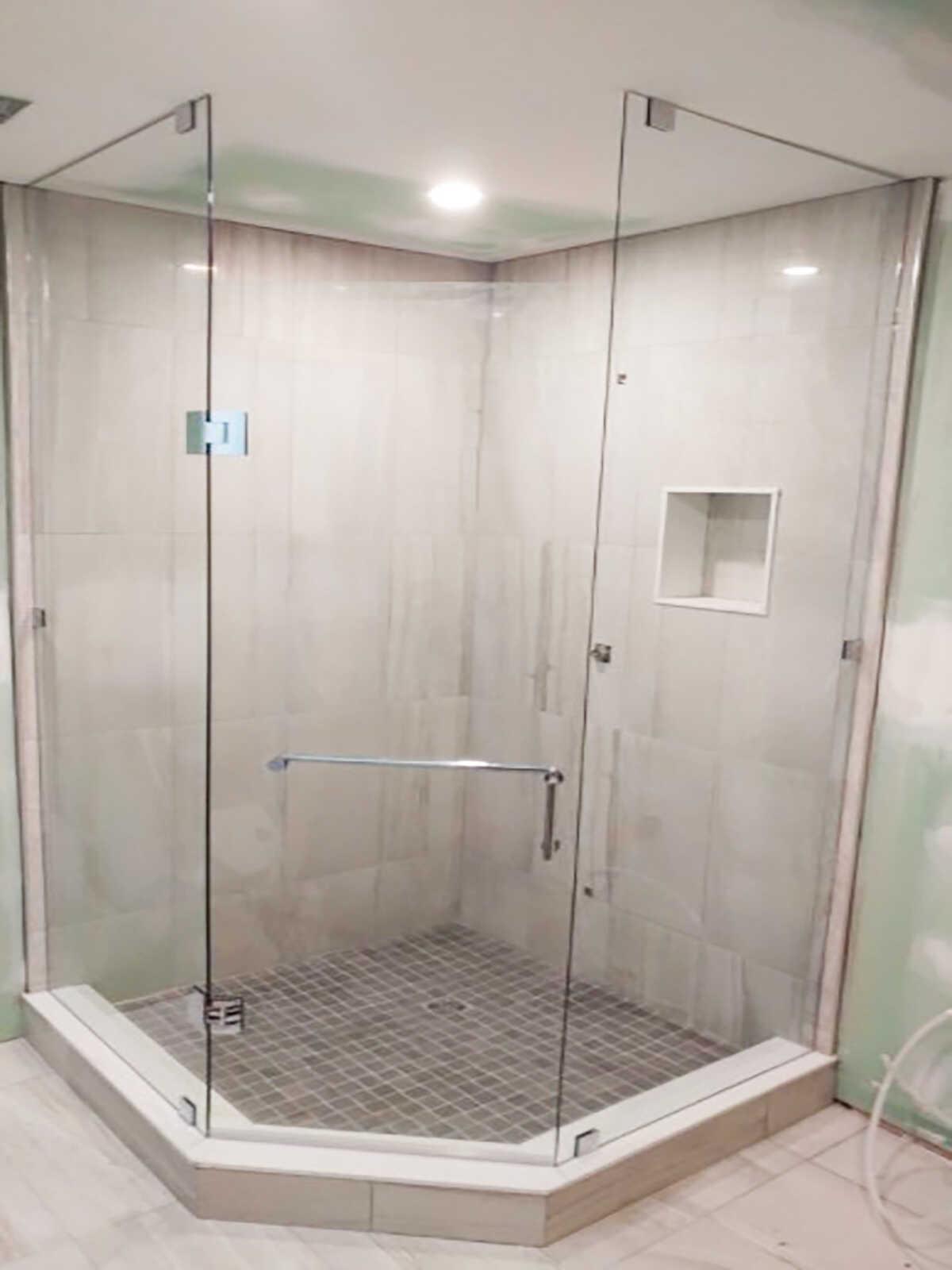 the best neo angle shower door