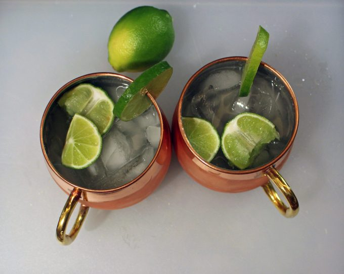 Moscow Mule | Glass of Glam - Dry January Wasn't A Month of Enlightenment and Rainbows by popular Chicago lifestyle blogger Glass of Glam