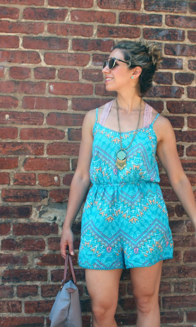 Easy Romper | Glass of Glam