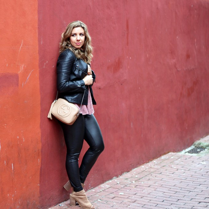Velvet and Leather