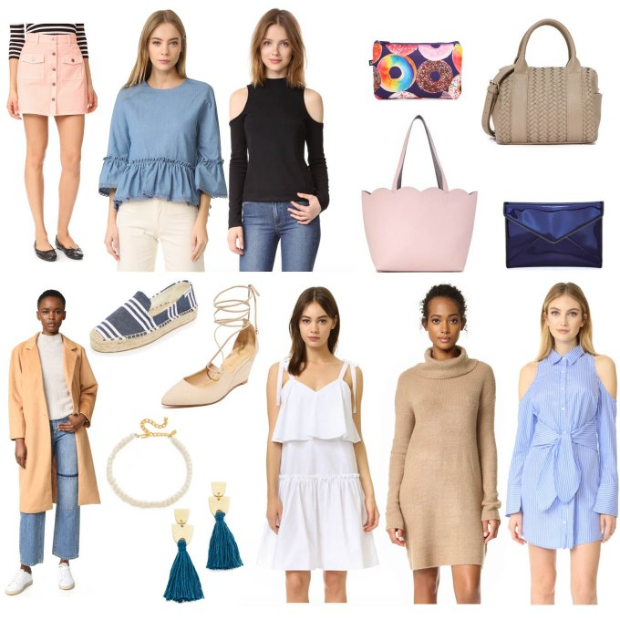 Lifestyle Blogger Roxane Birnbaum of Glass of Glam's ShopBop March Sale Picks