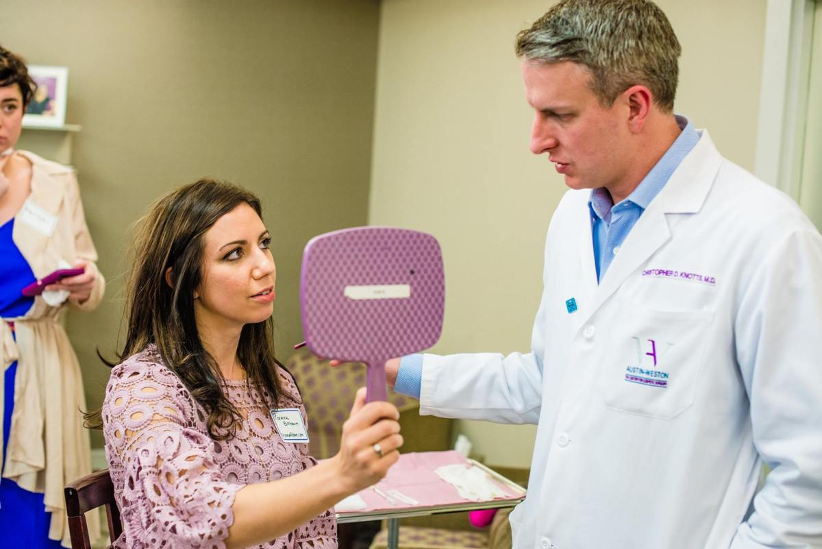 Botox, Breast Aug, and Rosé at the Austin-Weston Center For Cosmetic Surgery